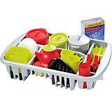 """Набор игрушечной посудки Ecoiffier """"100% Chef"""", 45 предметов"""