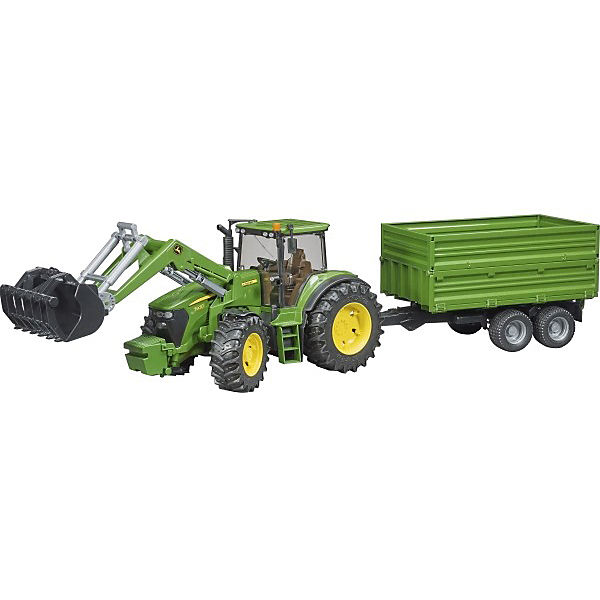 bruder 03055 traktor john deere 7930 mit frontlader john. Black Bedroom Furniture Sets. Home Design Ideas