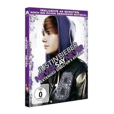 DVD Justin Bieber - Never Say Never