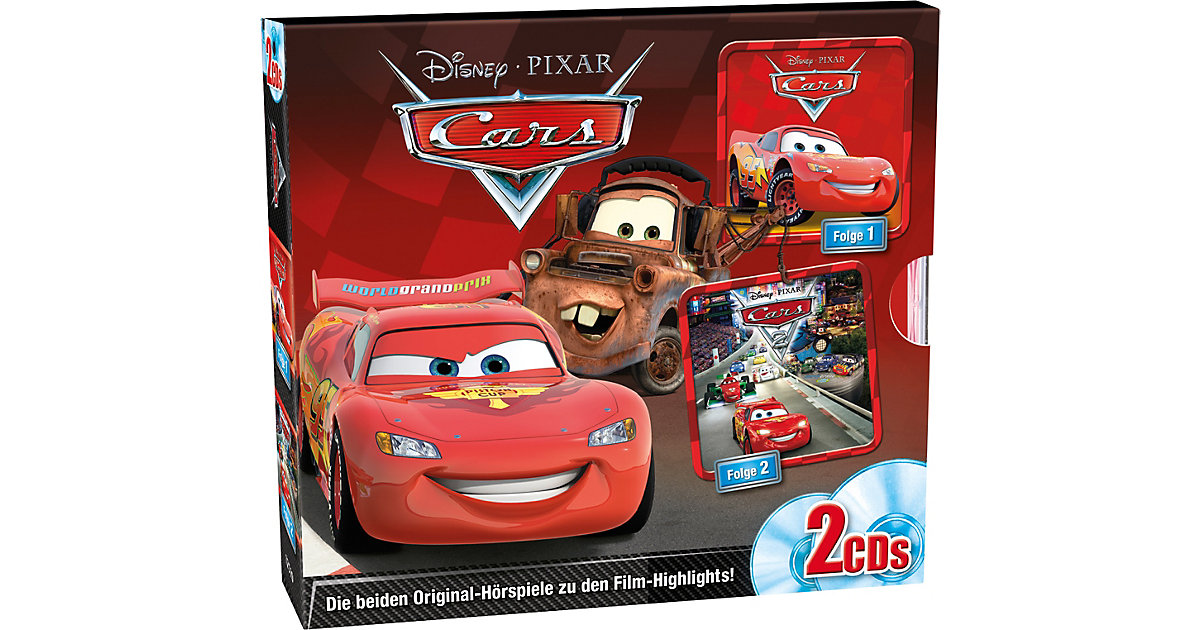 CD Disney: Cars Box (Folge 1 und 2) Hörbuch