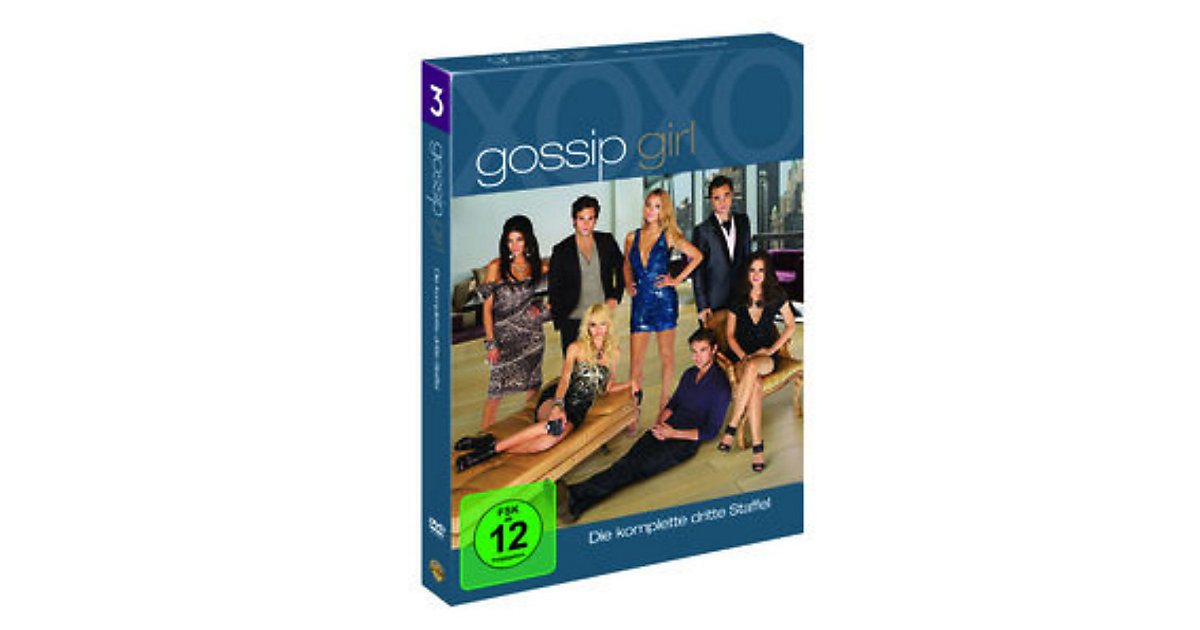 DVD Gossip Girl - Season 3