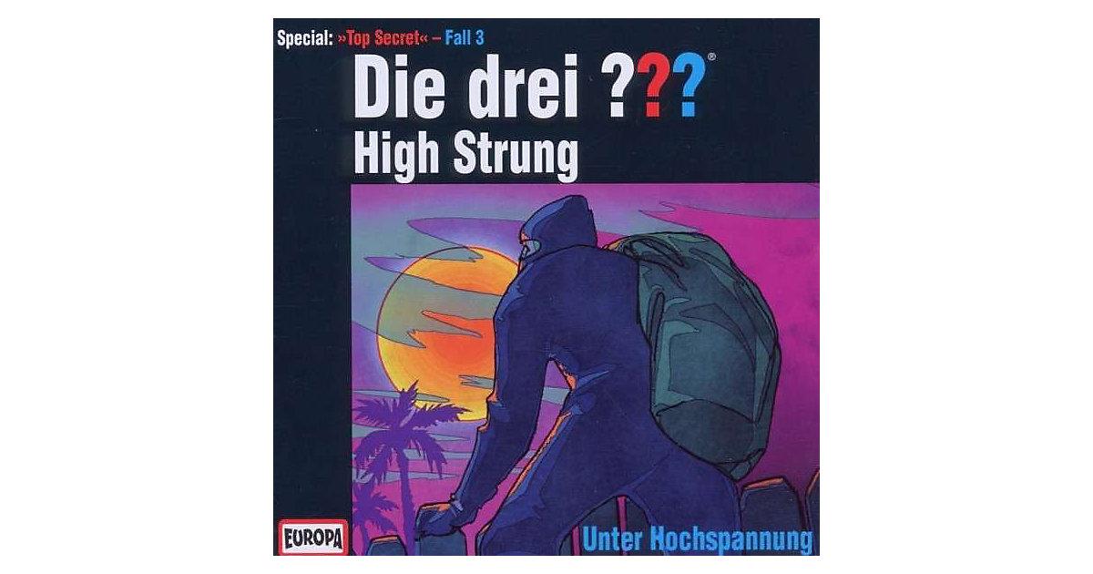 CD Die Drei ??? - High Strung - Unter Hochspannung