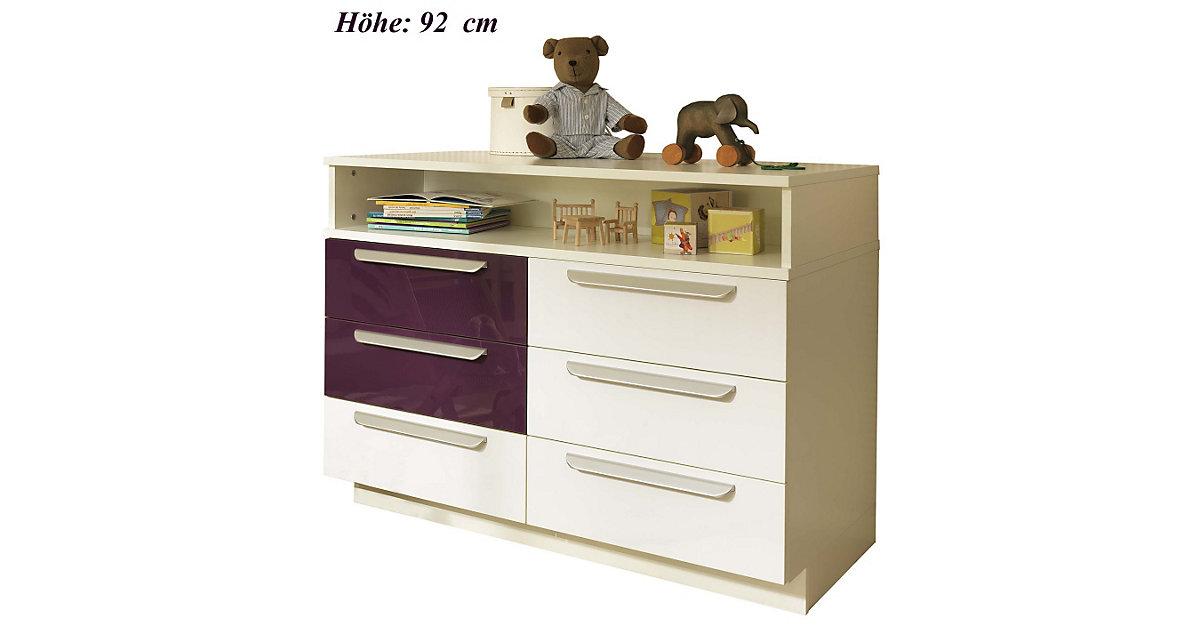 kommode hochglanz wei preisvergleich die besten angebote online kaufen. Black Bedroom Furniture Sets. Home Design Ideas
