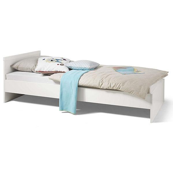 jugendbett milla wei 90 x 200 cm wellem bel mytoys. Black Bedroom Furniture Sets. Home Design Ideas