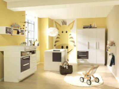 Komplett Kinderzimmer MILLA Groß, 4 Tlg. (Kinderbett, Kommode,  Wickelaufsatz Und ...