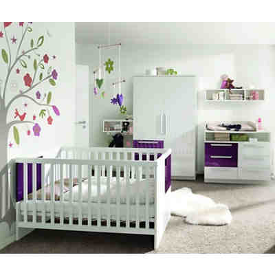 komplett kinderzimmer milla 4 tlg kinderbett kommode. Black Bedroom Furniture Sets. Home Design Ideas