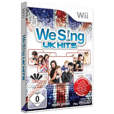 Wii We Sing UK Hits (ohne Mikrofone)