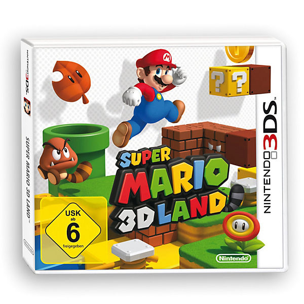 3DS Super Mario 3D Land