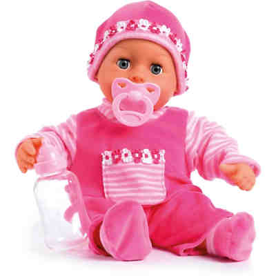 Babypuppe First words baby, pink, 38 cm