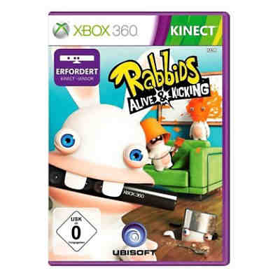 XBOX360 KINECT Raving Rabbids - Alive and Kicking