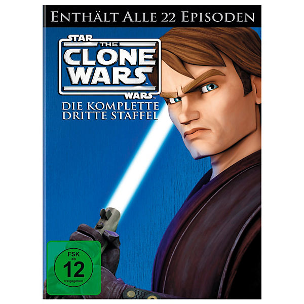 DVD Star Wars: The Clone Wars - Season 3