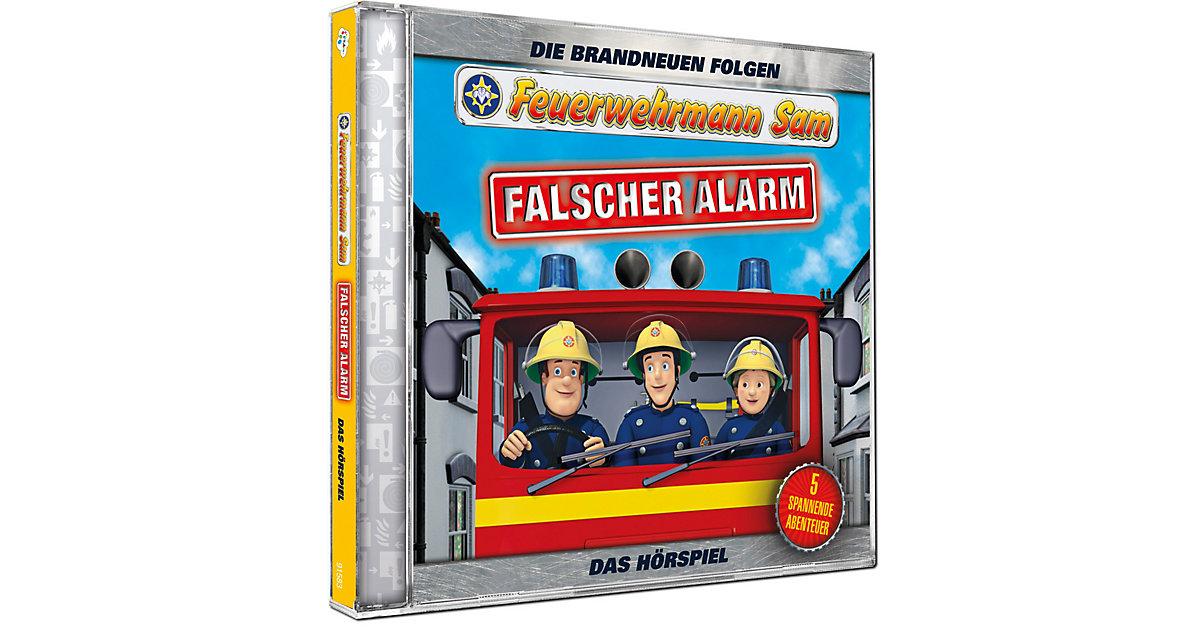 CD Feuerwehrmann Sam - Falscher Alarm (Teil 4) Hörbuch