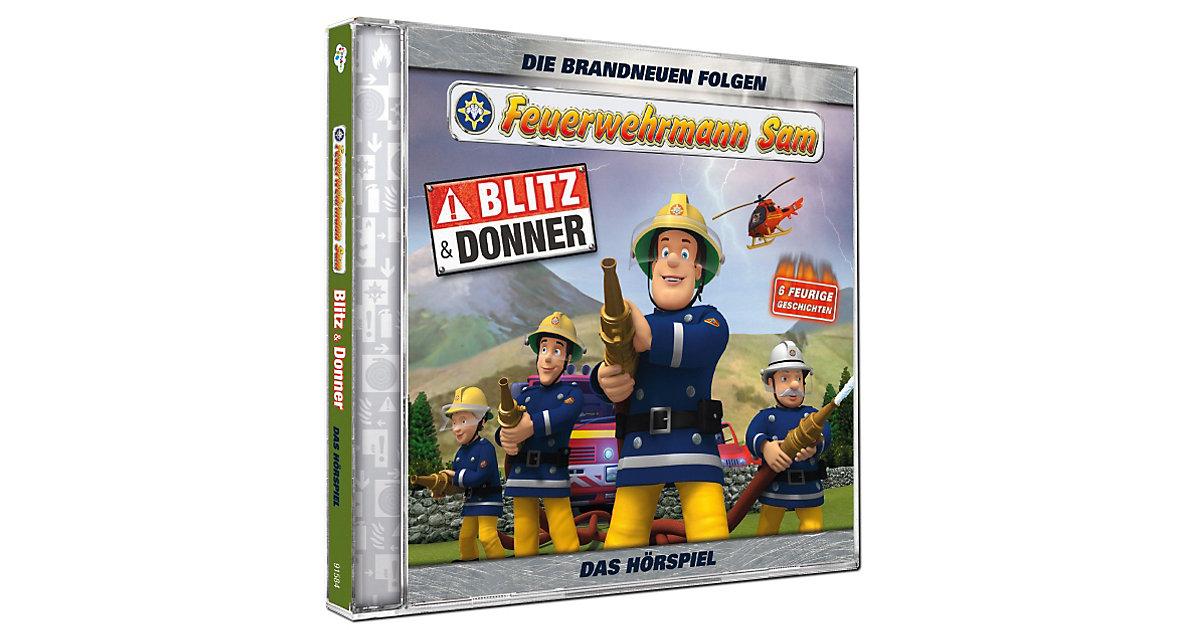 CD Feuerwehrmann Sam - Blitz und Donner Hörbuch