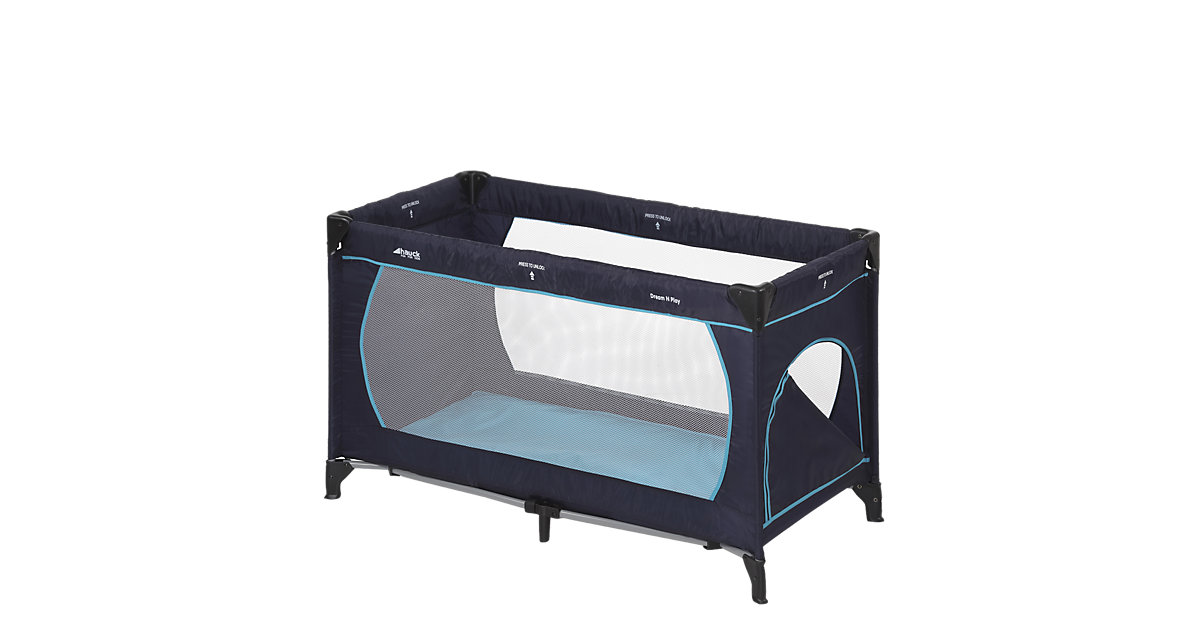 Reisebett Dream'n Play Plus, navy/aqua blau
