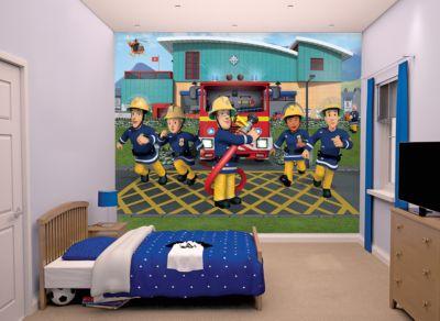 2376953 01 - Feuerwehrmann Sam Tapete