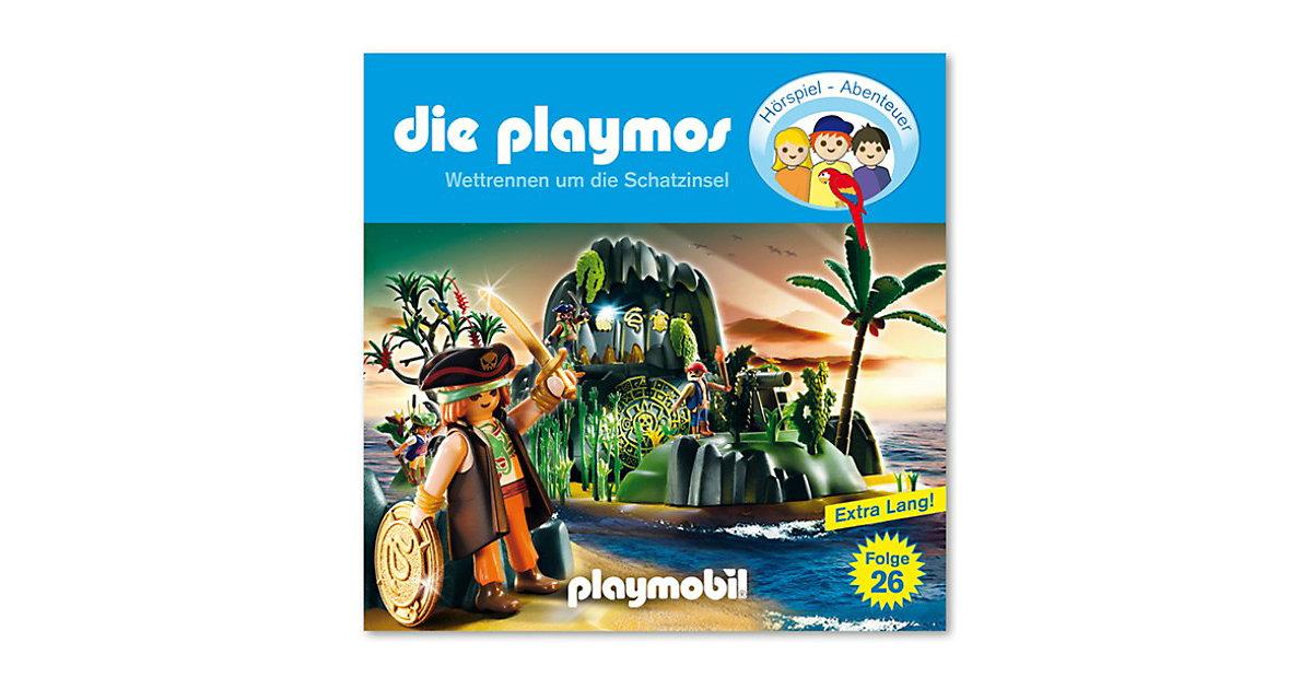 CD Die Playmos 26 - Wettrennen um die Schatzinsel Hörbuch