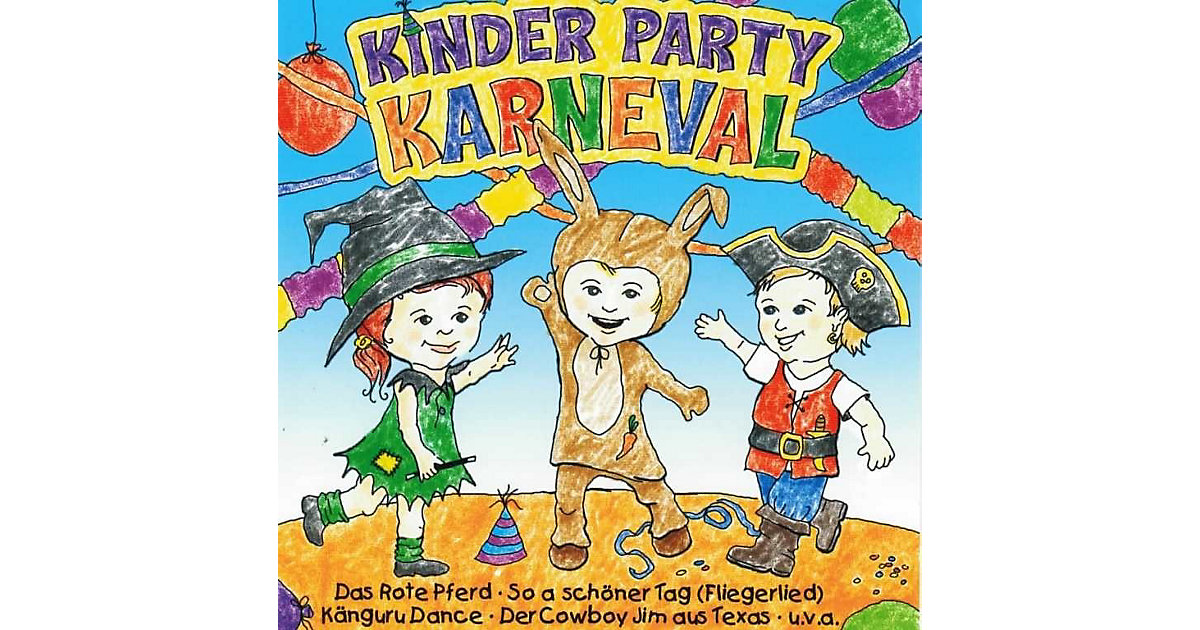 CD Kinder Party Karneval