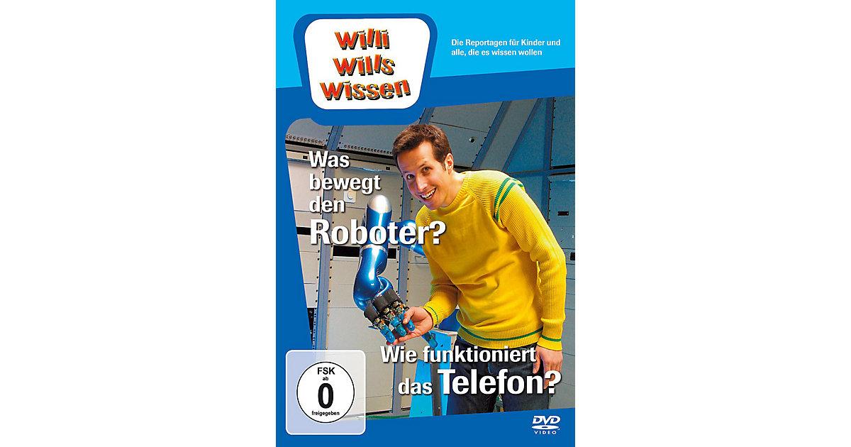 DVD Willi wills wissen - Was bewegt den Roboter...