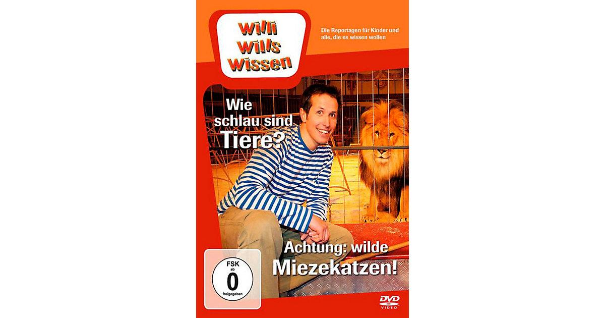 DVD Willi wills wissen Wie schlau sind Tiere?