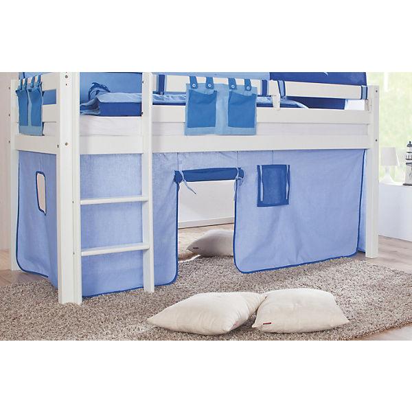 vorhangset f r spielbett eliyas und alex ohne rutsche hellblau blau relita mytoys. Black Bedroom Furniture Sets. Home Design Ideas