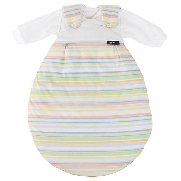 Schlafsack Baby Mäxchen, Jersey, Streifen Bunt, Alvi | MyToys