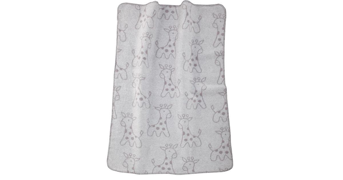 Babydecke Giraffe grau, 75 x 100 cm | Kinderzimmer > Textilien für Kinder > Babytextilien | Alvi