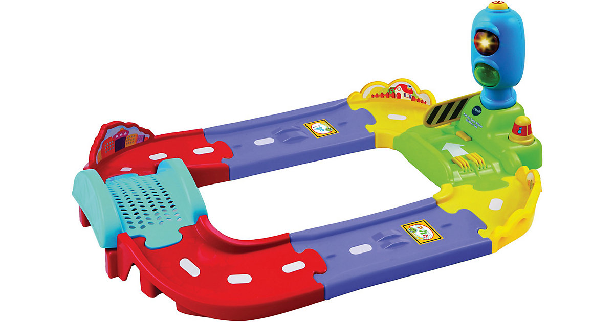 Tut Tut Baby Flitzer - Straßen-Basisset, 6-tlg.