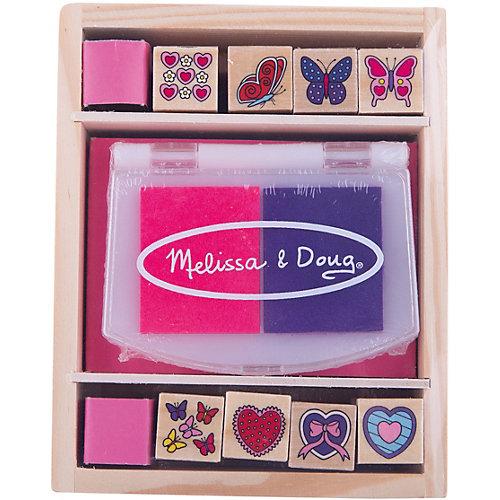 "Набор печатей ""Бабочки и сердечки"", Melissa & Doug от Melissa & Doug"