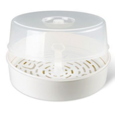 Mikrowellen Dampfsterilisator Vapostar weiß
