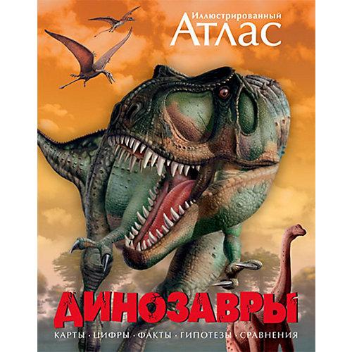 """Иллюстрированный атлас """"Динозавры"""" от Махаон"""