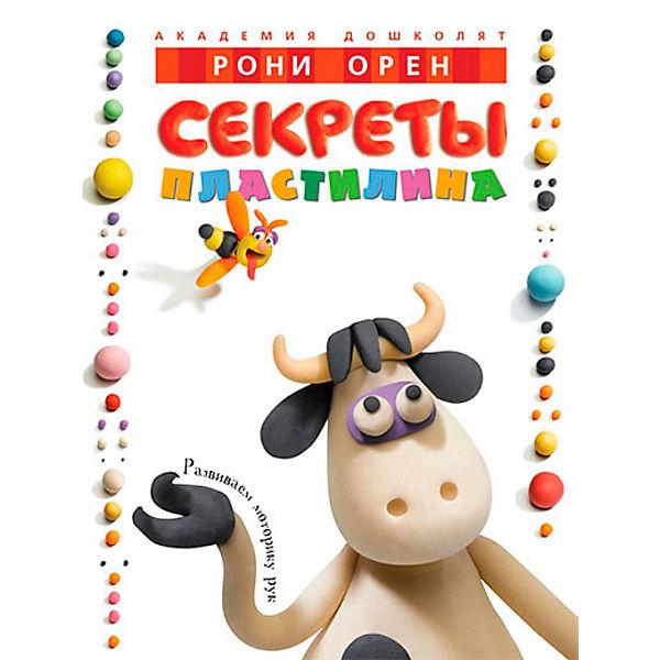 """Книга для творчества """"Секреты пластилина"""", Рони Орен"""