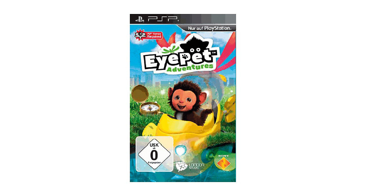Vorschaubild von PSP EyePet Adventures
