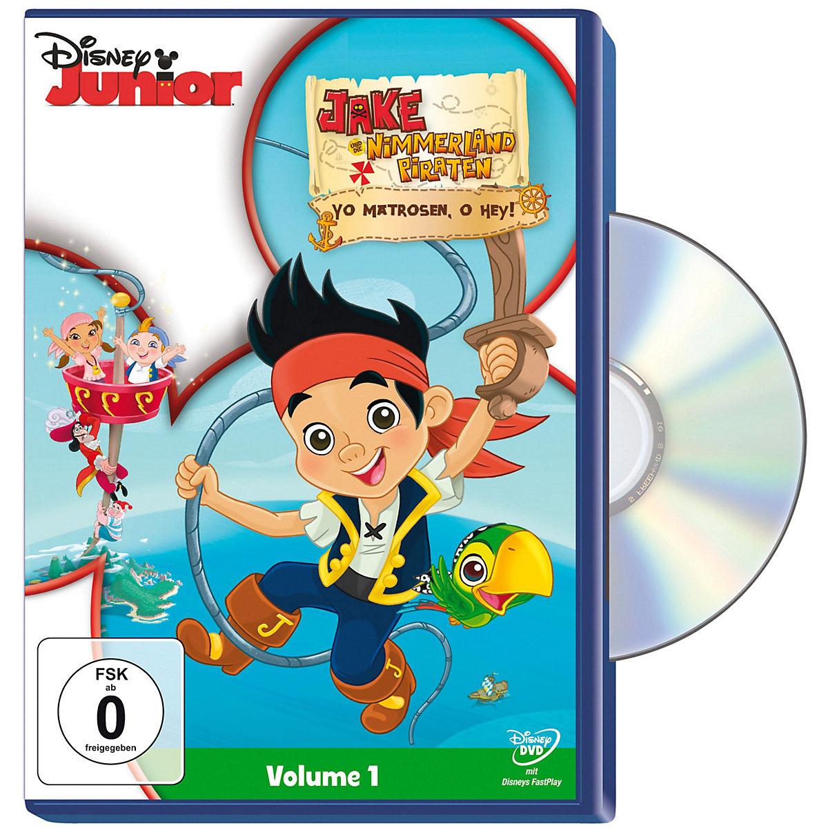 dvd jake und die nimmerland piraten  yo matrosen o hey