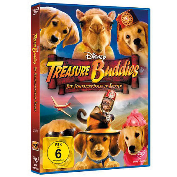 DVD Disney's - Treasure Buddies