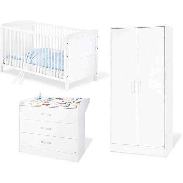 Komplett Kinderzimmer VIKTORIA groß 3 tlg Kinderbett