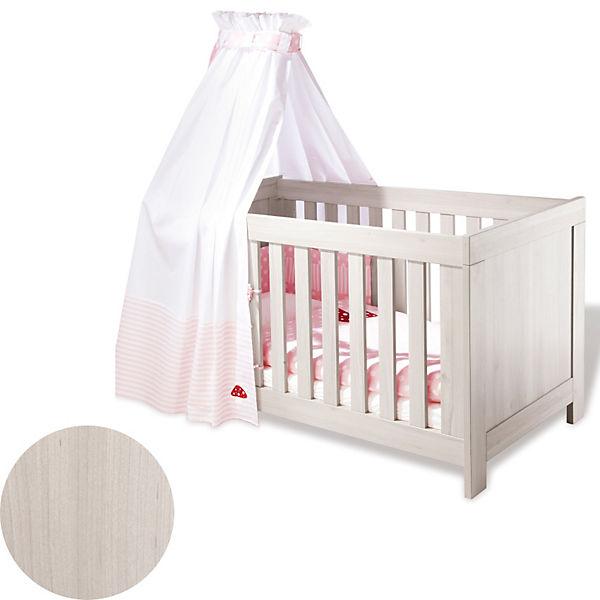 Kinderbett PEPPER Esche grau 140 x 70 cm Pinolino