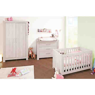 Kinderbett PEPPER, Esche grau, 140 x 70 cm, Pinolino | myToys