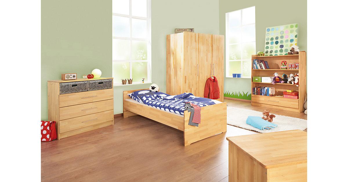 Kleiderschrank buche massiv 3 t rig preisvergleich die for Jugendzimmer hochwertig