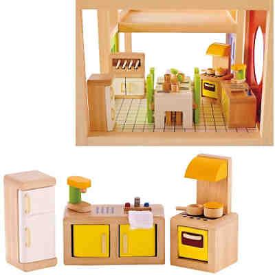 haba 300510 puppenhaus little friends m bel kinderzimmer. Black Bedroom Furniture Sets. Home Design Ideas