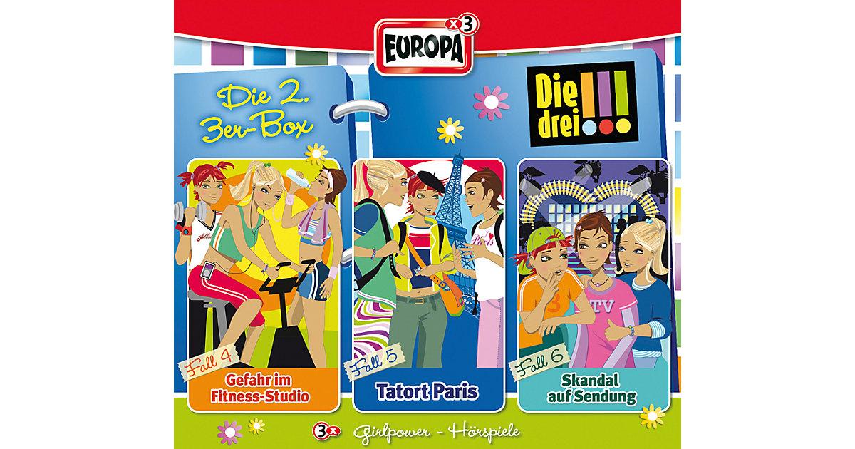 Sony · CD Die drei !!! 02 - 3er Box - Folgen 4 - 6