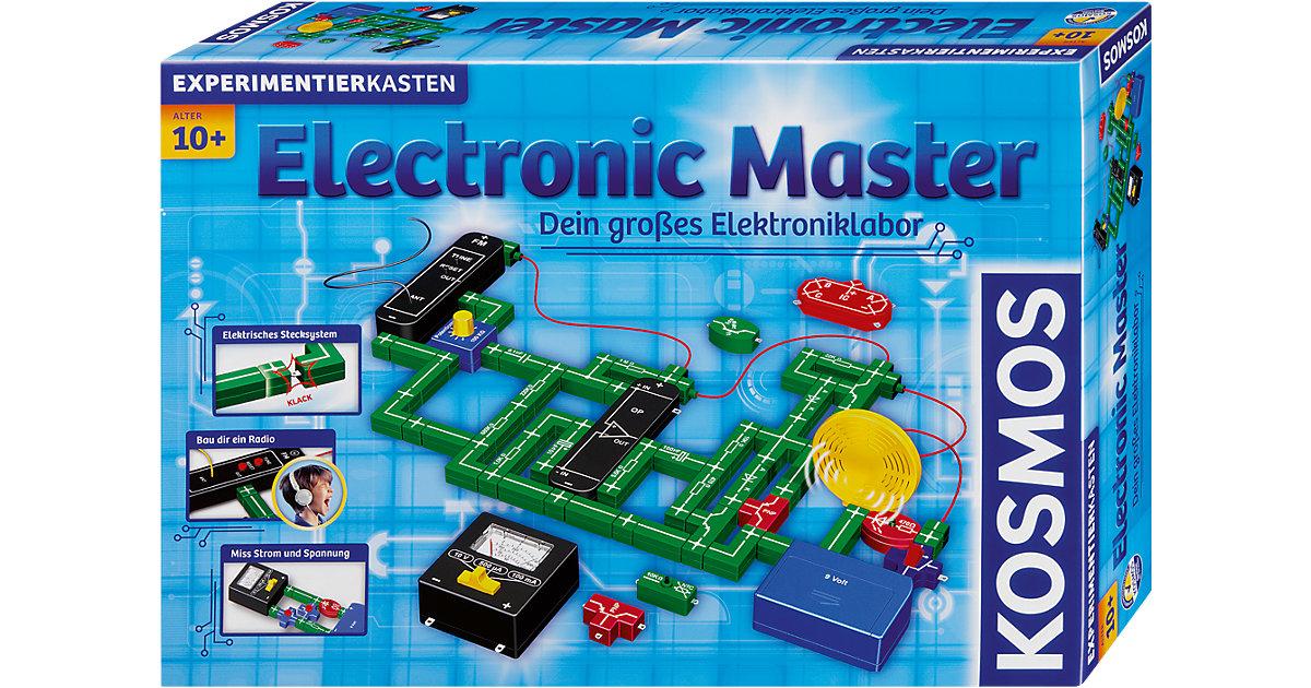 Kosmos · Experimentierkasten Electronic Master