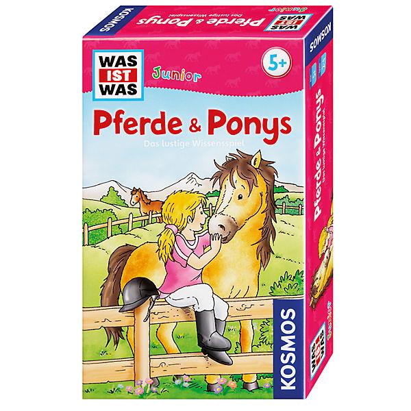 WAS IST WAS Junior - Pferde und Ponys, Kosmos