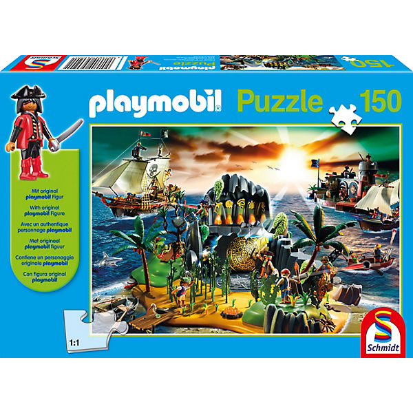 Playmobil, Pirateninsel, 150 Teile