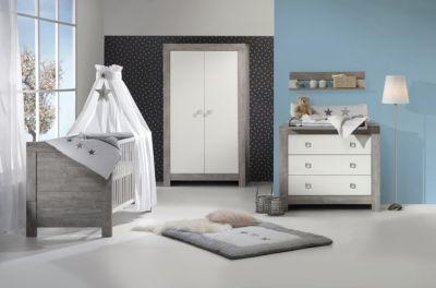 Schon Komplett Kinderzimmer NORDIC DRIFTWOOD, 3 Tlg. (Kinderbett + US,  Wickelkommode Und ...