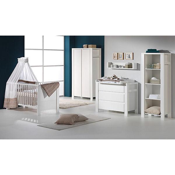 Komplett Kinderzimmer Milano Weiss 3 Tlg Kinderbett Us