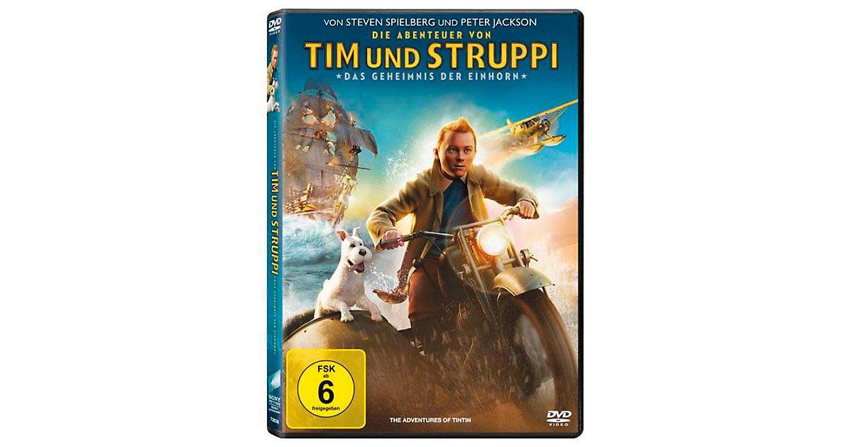 DVD Abenteuer von Tim und Struppi - Kinofilm Hörbuch