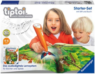 tiptoi® Starter-Set mit Stift und Bilderlexikon Tiere