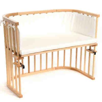 beistellbett babybay maxi wei lackiert extra bel ftet. Black Bedroom Furniture Sets. Home Design Ideas