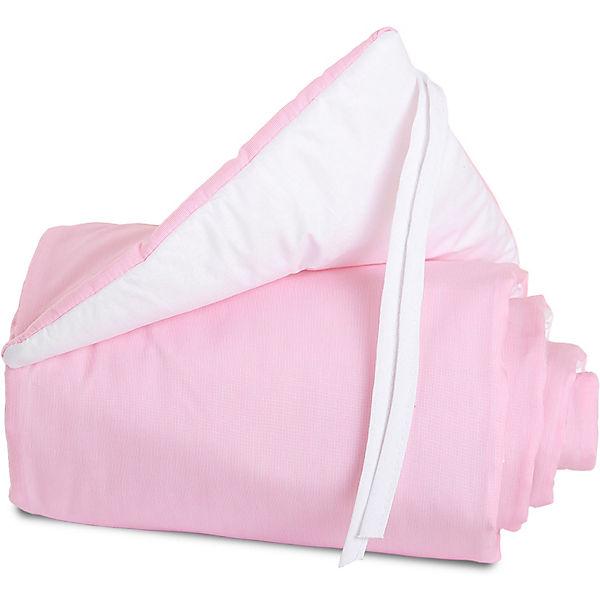 Nestchen für babybay maxi & boxspring rosa 168 x 25 cm babybay