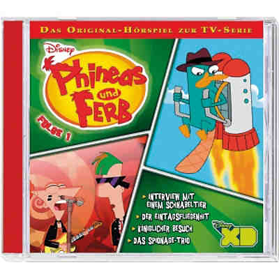 CD Phineas & Ferb - TV Serie 1